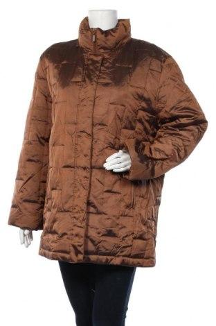 Дамско яке, Размер L, Цвят Кафяв, 60% полиестер, 40% полиамид, Цена 14,49лв.
