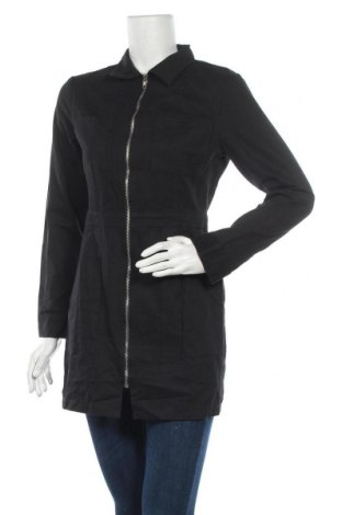 Дамско яке, Размер M, Цвят Черен, Памук, Цена 25,04лв.