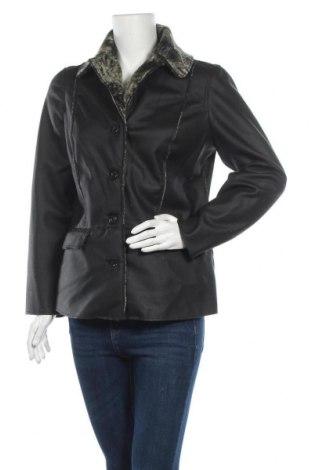 Дамско яке, Размер M, Цвят Черен, Полиестер, Цена 25,20лв.