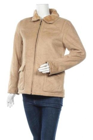 Дамско яке, Размер S, Цвят Бежов, Полиестер, Цена 17,64лв.