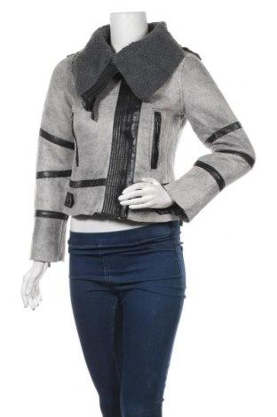 Дамско яке, Размер S, Цвят Сив, Полиестер, Цена 27,14лв.