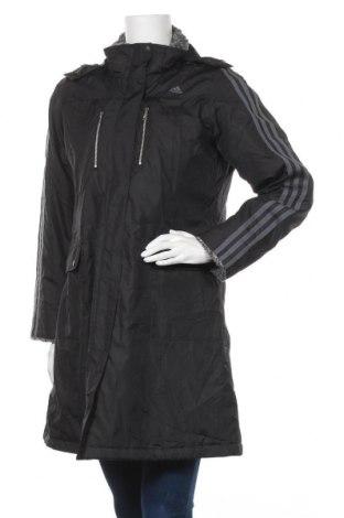 Γυναικείο μπουφάν Adidas, Μέγεθος M, Χρώμα Μαύρο, Τιμή 41,57€