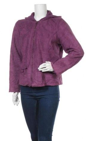 Γυναικείο μπουφάν Christopher & Banks, Μέγεθος L, Χρώμα Βιολετί, Πολυεστέρας, Τιμή 5,01€
