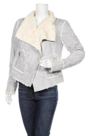 Дамско яке Decjuba, Размер M, Цвят Сив, 100% полиестер, Цена 9,98лв.
