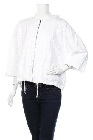 Дамско яке Grae, Размер L, Цвят Бял, Лен, памук, Цена 18,48лв.