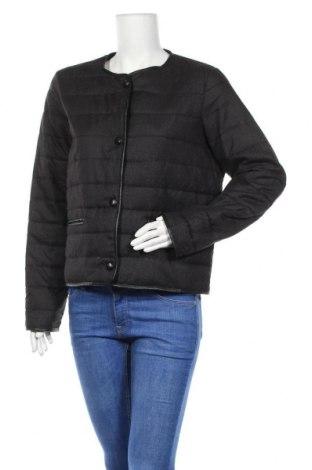 Дамско яке Mango, Размер XL, Цвят Черен, Полиестер, Цена 32,86лв.