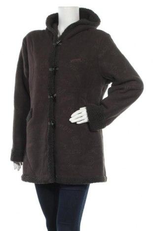 Дамско яке Miss Luna, Размер XL, Цвят Сив, 51% памук, 49% полиестер, Цена 27,30лв.
