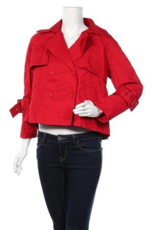 Дамско яке Piper, Размер S, Цвят Червен, 98% памук, 2% еластан, Цена 16,38лв.