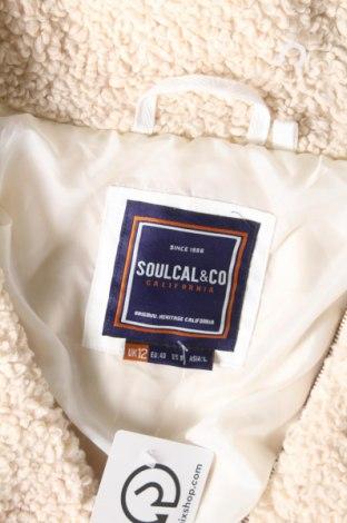 Дамско яке Soulcal & Co, Размер M, Цвят Бежов, Полиестер, Цена 27,60лв.