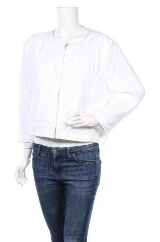 Дамско яке Sussan, Размер L, Цвят Бял, 100% лен, Цена 30,24лв.