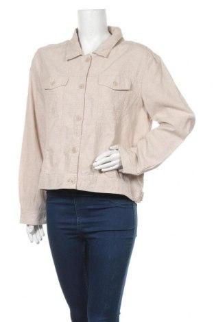Дамско яке Suzanne Grae, Размер XL, Цвят Бежов, Лен, памук, Цена 11,03лв.