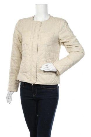 Γυναικείο μπουφάν TWINSET, Μέγεθος L, Χρώμα Εκρού, Πολυαμίδη, Τιμή 33,41€