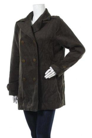 Дамско палто Target, Размер XXL, Цвят Зелен, Полиестер, вискоза, еластан, Цена 41,16лв.