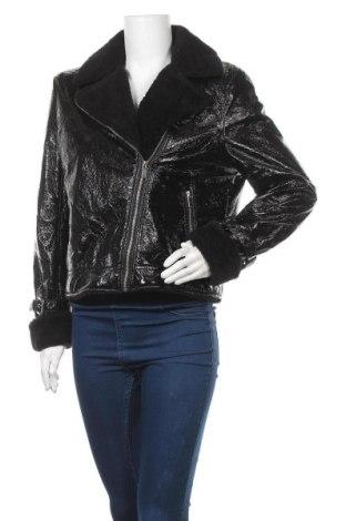 Дамско яке Threadbare, Размер L, Цвят Черен, Полиестер, Цена 24,78лв.