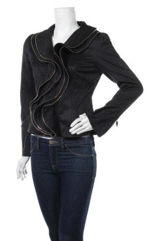 Дамско яке Vangelica, Размер M, Цвят Черен, 65% памук, 35% полиестер, Цена 27,88лв.