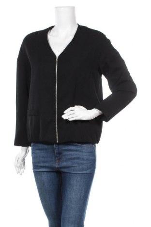 Дамско яке Zara, Размер M, Цвят Черен, 100% полиестер, Цена 24,36лв.