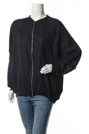 Γυναικείο μπουφάν Zizzi, Μέγεθος XXL, Χρώμα Μπλέ, Πολυεστέρας, Τιμή 27,28€