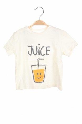 Παιδική μπλούζα, Μέγεθος 9-12m/ 74-80 εκ., Χρώμα  Μπέζ, Τιμή 11,21€