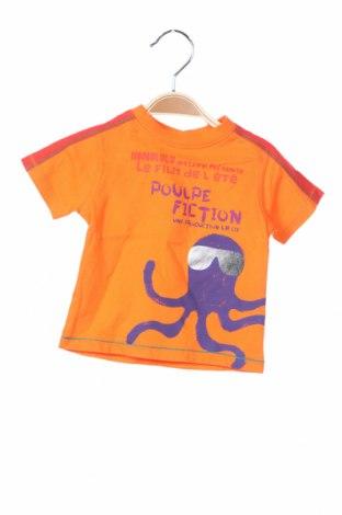 Παιδική μπλούζα La Compagnie des Petits, Μέγεθος 3-6m/ 62-68 εκ., Χρώμα Πορτοκαλί, Βαμβάκι, Τιμή 7,94€