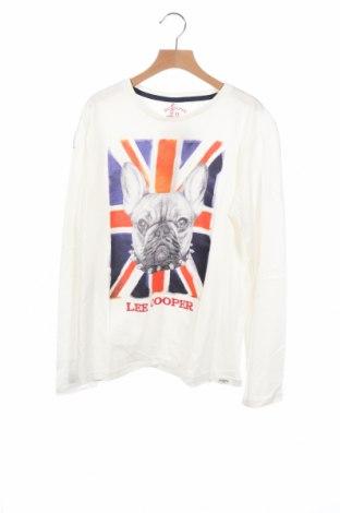 Παιδική μπλούζα Lee Cooper, Μέγεθος 15-18y/ 170-176 εκ., Χρώμα Λευκό, Βαμβάκι, Τιμή 13,92€