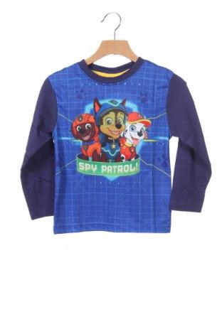 Παιδική μπλούζα Nickelodeon, Μέγεθος 3-4y/ 104-110 εκ., Χρώμα Μπλέ, Πολυεστέρας, Τιμή 13,15€