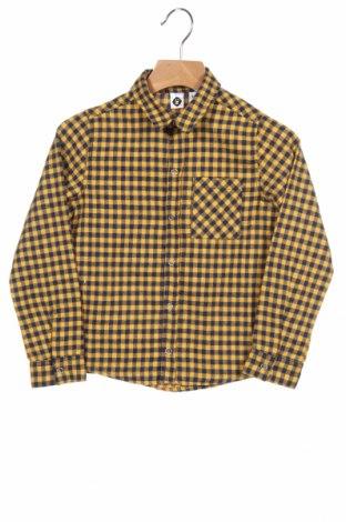 Παιδικό πουκάμισο Grain De Ble, Μέγεθος 3-4y/ 104-110 εκ., Χρώμα Μπλέ, 56% βαμβάκι, 24%ακρυλικό, 20% πολυεστέρας, Τιμή 4,33€