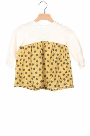 Παιδικό φόρεμα Zara Kids, Μέγεθος 9-12m/ 74-80 εκ., Χρώμα  Μπέζ, Τιμή 19,77€