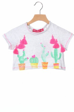 Παιδικό μπλουζάκι Agatha Ruiz De La Prada, Μέγεθος 18-24m/ 86-98 εκ., Χρώμα Γκρί, Βαμβάκι, Τιμή 7,01€
