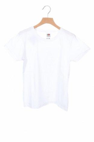 Детска тениска Fruit Of The Loom, Размер 10-11y/ 146-152 см, Цвят Бял, Памук, Цена 11,66лв.
