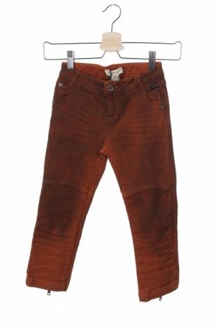 Dětské džíny  TWINSET, Velikost 4-5y/ 110-116 cm, Barva Oranžová, 99% bavlna, 1% elastan, Cena  359,00Kč