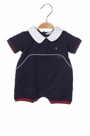 Детски гащеризон Fun Fun, Размер 3-6m/ 62-68 см, Цвят Син, 95% памук, 5% еластан, Цена 18,40лв.