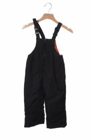 Παιδική σαλοπέτα για χειμερινά σπορ, Μέγεθος 18-24m/ 86-98 εκ., Χρώμα Μαύρο, Πολυεστέρας, Τιμή 6,23€