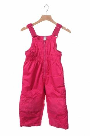 Детски гащеризон за зимни спортове George, Размер 12-18m/ 80-86 см, Цвят Розов, Полиестер, Цена 19,64лв.