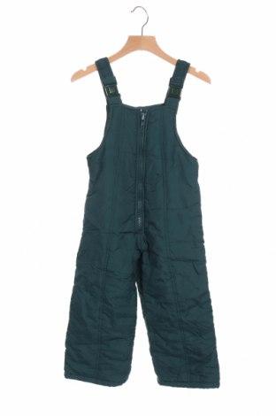 Παιδική σαλοπέτα για χειμερινά σπορ, Μέγεθος 3-4y/ 104-110 εκ., Χρώμα Πράσινο, Πολυαμίδη, Τιμή 14,19€