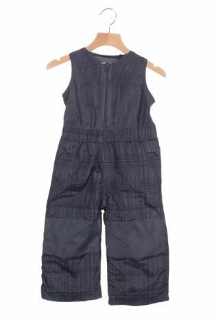 Παιδική σαλοπέτα για χειμερινά σπορ, Μέγεθος 18-24m/ 86-98 εκ., Χρώμα Γκρί, Πολυεστέρας, Τιμή 7,15€