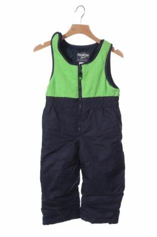 Παιδική σαλοπέτα για χειμερινά σπορ Oshkosh, Μέγεθος 18-24m/ 86-98 εκ., Χρώμα Μπλέ, Πολυεστέρας, Τιμή 13,08€