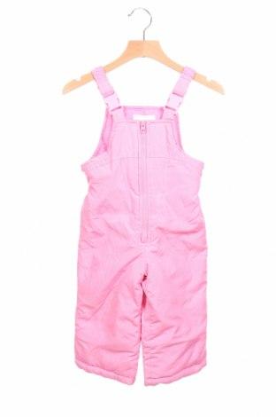 Παιδική σαλοπέτα για χειμερινά σπορ Oshkosh, Μέγεθος 12-18m/ 80-86 εκ., Χρώμα Ρόζ , Πολυεστέρας, Τιμή 23,45€