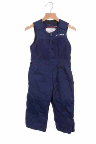 Детски гащеризон за зимни спортове Weatherproof, Размер 5-6y/ 116-122 см, Цвят Син, Цена 16,17лв.