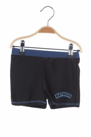 Παιδικό κοντό παντελόνι Batman, Μέγεθος 3-4y/ 104-110 εκ., Χρώμα Μαύρο, 82% πολυεστέρας, 18% ελαστάνη, Τιμή 11,54€