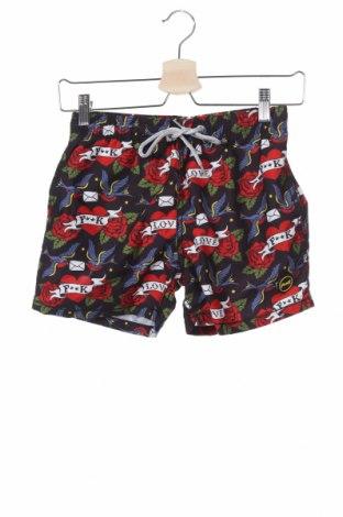 Παιδικό κοντό παντελόνι F**k, Μέγεθος 9-10y/ 140-146 εκ., Χρώμα Πολύχρωμο, 100% πολυεστέρας, Τιμή 9,48€