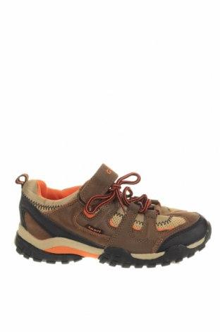Παιδικά παπούτσια, Μέγεθος 34, Χρώμα Καφέ, Φυσικό σουέτ, κλωστοϋφαντουργικά προϊόντα, Τιμή 27,28€