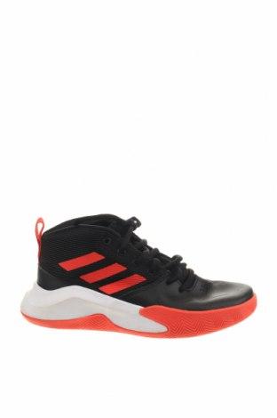 Παιδικά παπούτσια Adidas, Μέγεθος 30, Χρώμα Μαύρο, Γνήσιο δέρμα, κλωστοϋφαντουργικά προϊόντα, Τιμή 21,79€