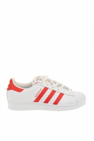 Παιδικά παπούτσια Adidas Originals, Μέγεθος 37, Χρώμα Λευκό, Γνήσιο δέρμα, δερματίνη, Τιμή 51,63€