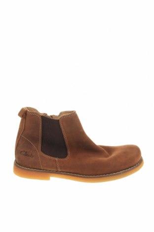 Παιδικά παπούτσια Clarks, Μέγεθος 31, Χρώμα Καφέ, Γνήσιο δέρμα, Τιμή 24,26€