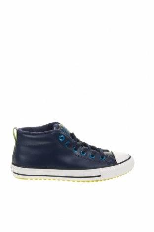Παιδικά παπούτσια Converse All Star, Μέγεθος 37, Χρώμα Μπλέ, Γνήσιο δέρμα, Τιμή 38,64€