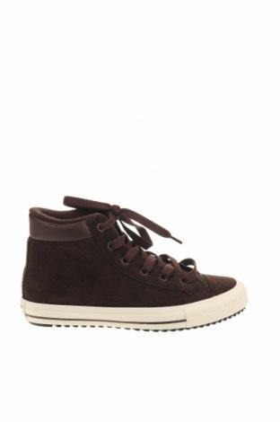 Παιδικά παπούτσια Converse All Star, Μέγεθος 37, Χρώμα Καφέ, Φυσικό σουέτ, δερματίνη, Τιμή 38,64€