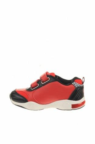 Παιδικά παπούτσια Disney, Μέγεθος 29, Χρώμα Κόκκινο, Δερματίνη, κλωστοϋφαντουργικά προϊόντα, Τιμή 20,10€