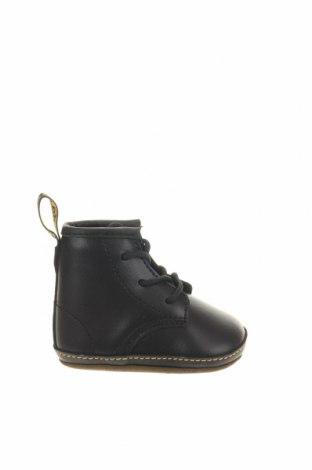 Παιδικά παπούτσια Dr. Martens, Μέγεθος 16, Χρώμα Μαύρο, Γνήσιο δέρμα, Τιμή 40,02€