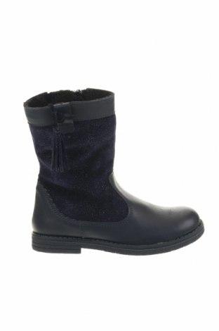 Детски обувки Du Pareil Au Meme, Размер 27, Цвят Син, Естествена кожа, естествен велур, Цена 81,27лв.