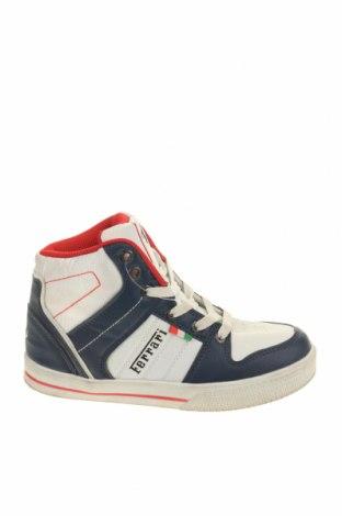 Παιδικά παπούτσια Ferrari, Μέγεθος 34, Χρώμα Λευκό, Δερματίνη, Τιμή 22,64€
